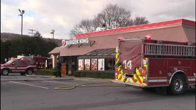 burger king blaze in allentown one news page video. Black Bedroom Furniture Sets. Home Design Ideas